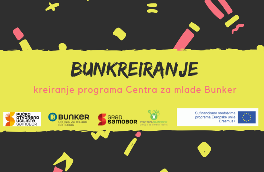 Bunkreiranje – Kreiranje programa Centra za mlade Bunker